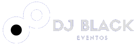 DJ BLACK EVENTOS logotipo
